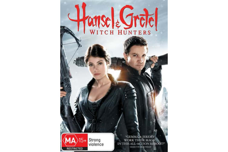 Hansel and Gretel Witch Hunters DVD Region 4
