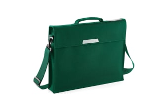 Quadra Academy Classic Portfolio Book Bag With Shoulder Strap (Bottle Green)