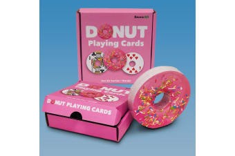 Donut Playing Cards | a Deliciously Delightful Dessert-shaped Deck!
