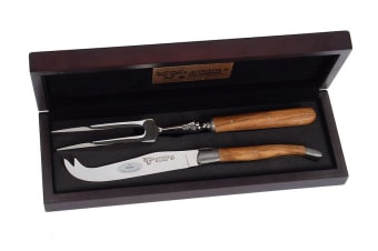 Laguiole En Aubrac Cheese Set Olive