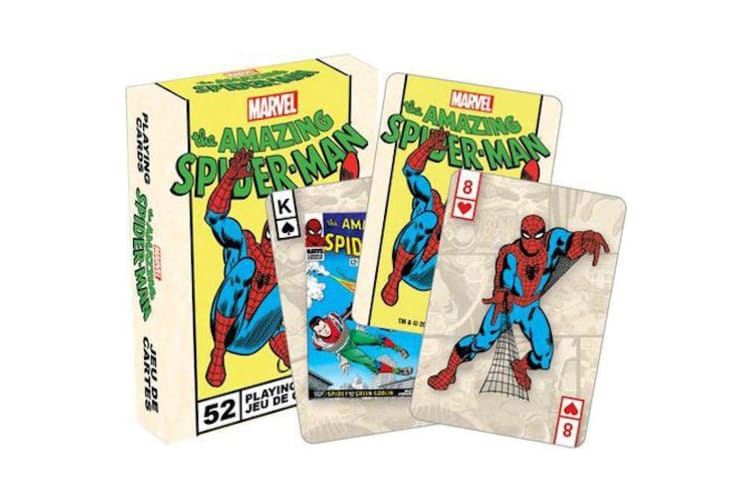 Marvel Spiderman Retro Playing Cards