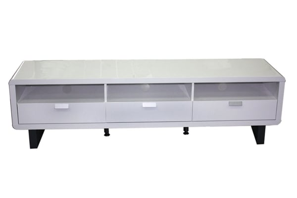 Groove TV Cabinet (White)