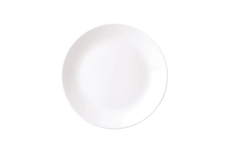 Royal Porcelain Chelsea Round Coupe Plate 21cm Set of 6