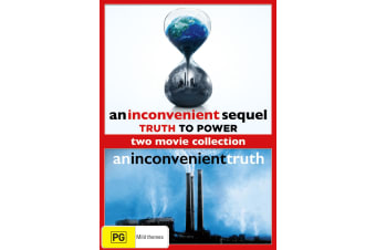 An Inconvenient Truth / An Inconvenient Sequel Truth to Power DVD Region 4
