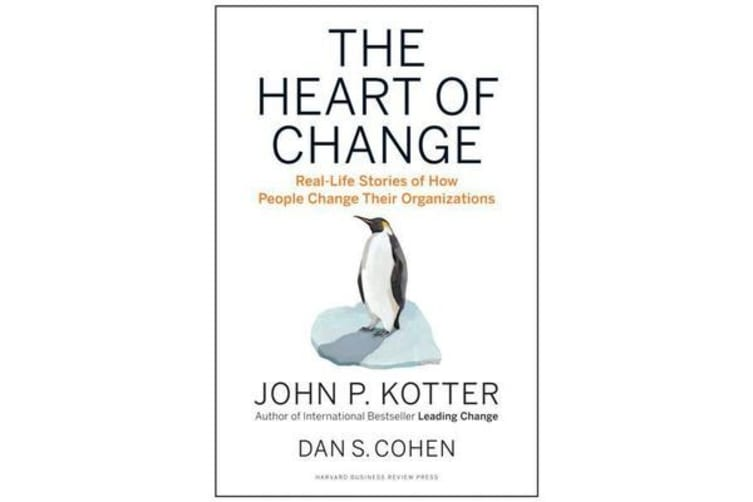 The Heart of Change - Real-Life Stories of How People Change Their Organizations
