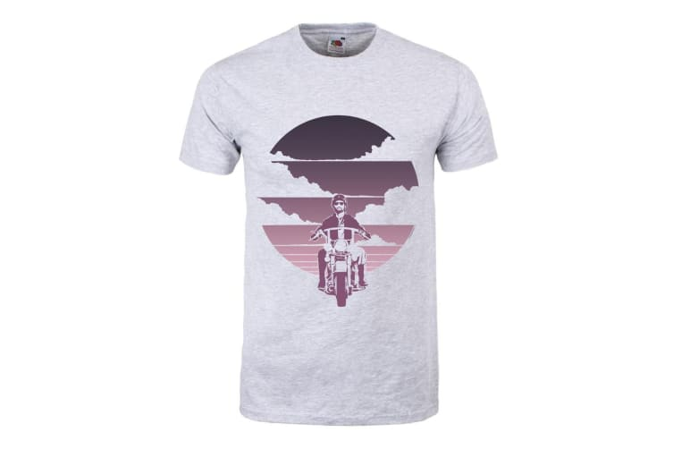 Grindstore Mens Freedom T-Shirt (Grey) (S)