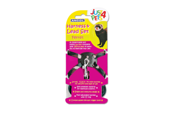 Ancol Pet Products Just 4 Pets Ferret Harness And Lead Set (Camouflage)