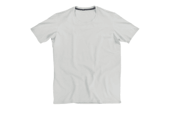 Stedman Stars Mens Clive Crew Neck Tee (Powder Grey)