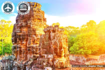 CAMBODIA: 14 Day Memorable Cambodia Tour for Two Including Flights