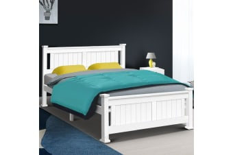Queen Wooden Timber Bed Frame RIO Kids Adults Furniture Base Size