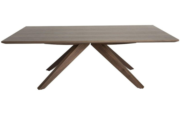 Amber Collection | Wood Coffee Table | Walnut