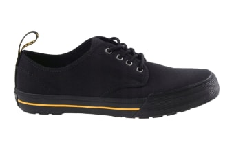 Dr. Martens Pressler Canvas Shoe (Black, Size 9 UK)