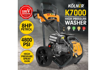 Kolner 7000 8HP 4800psi Petrol Engine High Pressure Washer Cleaner