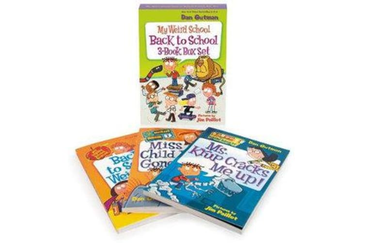 My Weird School Back to School 3-Book Box Set - Books 1-3