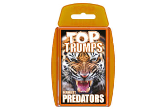 Top Trumps Cards Who's The Most Ferocious Deadliest Predators Card Game