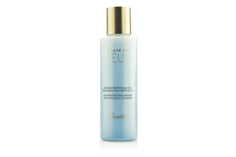 Guerlain Pure Radiance Cleanser - Beaute Des Yuex Lash-Protecting Biphase Eye Make-Up Remover 125ml