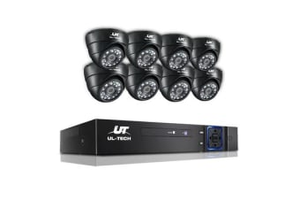 UL Tech 1080P 8-channel CCTV Security Camera
