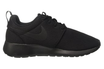 Nike Women's Roshe One Low Shoe (Black/Dark Grey, Size 12)