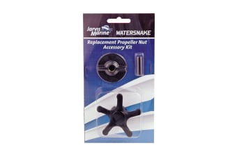 Watersnake Replacement Propeller Nut Accessory Kit - Prop Nut, Pin & Prop Nut Key Kit