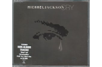 Michael Jackson – Cry PRE-OWNED CD: DISC LIKE NEW