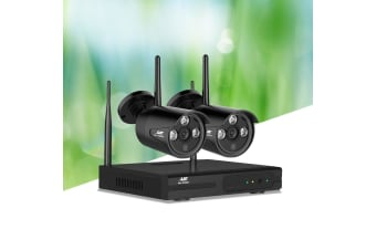 Wireless CCTV Security Camera System Outdoor 4CH WIFI 1080P Night