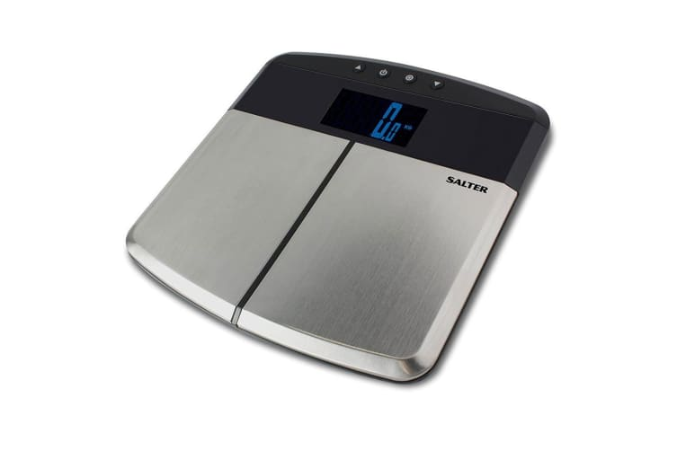Salter 9153 S/S Body Fat Analyser Scale/Electronic/Digital/Personal/Bathroom
