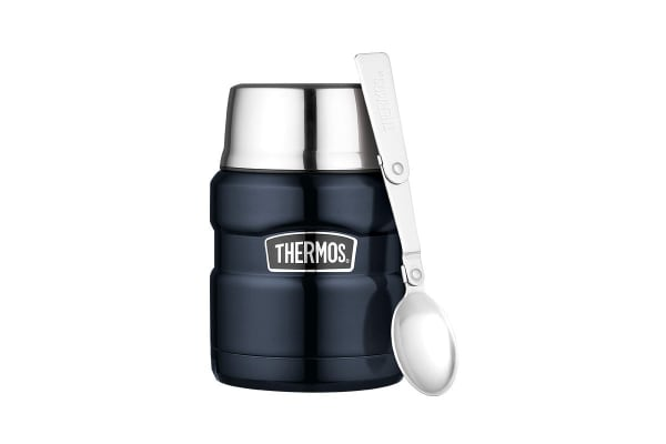 Thermos Stainless King 470ml Vacuum Insulated Food Jar (Midnight Blue)