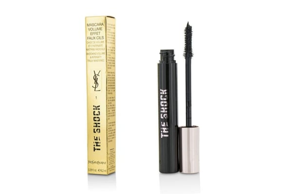 Yves Saint Laurent The Shock Volumizing Mascara - # 01 Asphalt Black (8.2ml/0.28oz)