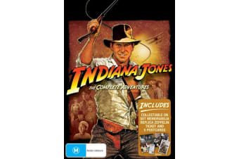 Indiana Jones The Complete Collection DVD Region 4