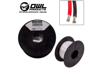 2 CORE 4MM x 20 METRES TINNED COPPER CABLE WIRE WIRING MARINE BOAT TRAILER OWL