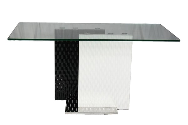 Z Glass Dining Table