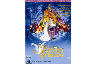 The Swan Princess DVD Region 4