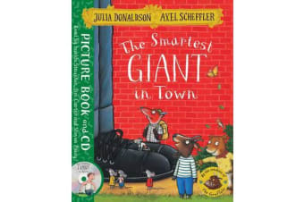 The Smartest Giant in Town - Book and CD Pack