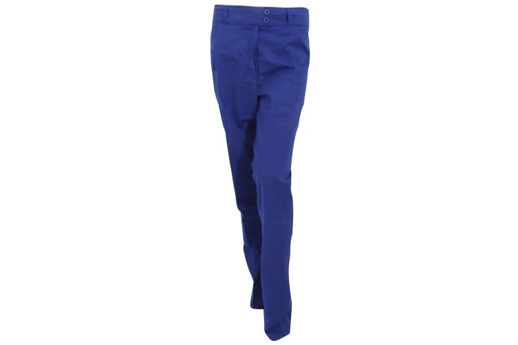 Premier Ladies/Womens Poppy Medical/Healthcare Work Trouser (Pack of 2) (Royal) (22)
