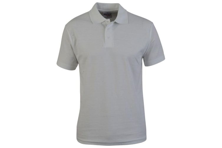 Absolute Apparel Mens Pioneer Polo (White) (M)