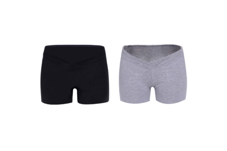 (2 Pack) Pregnant Women Wear Bottompants,Safety Pants To Prevent Low Light Waist Dressing - 12 Xl