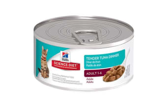 Hills Science Diet Adult Tender Tuna Dinner Cans - 1 Can
