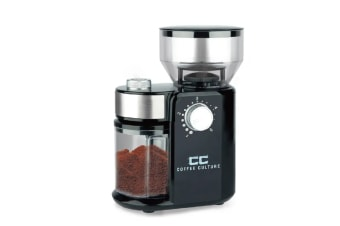 Coffee Culture Electric Burr Coffee Grinder 240g Bean Hopper 18 Grinding Setting
