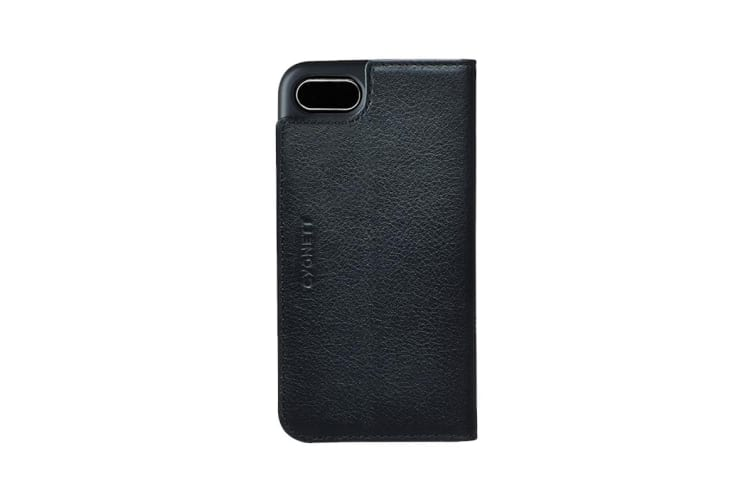 Cygnett CitiWallet Leather Case for iPhone 8 - Black