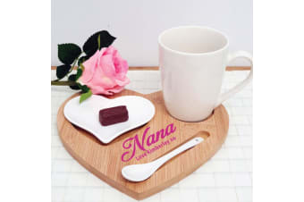 Amore Heart 4pce Tea For One Set - Nan