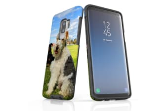 For Samsung Galaxy S9+ Plus Case Armour Cover  Dogs Fun at the Park