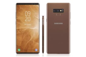 New Samsung Galaxy Note 9 Dual SIM 128GB 4G LTE Smartphone Metallic Copper (FREE DELIVERY + 1 YEAR AU WARRANTY)