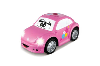 BB Junior Volkswagen Easy Play RC New Beetle Pink