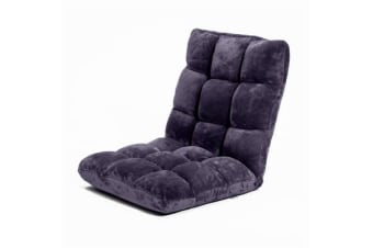 Lounge Sofa Bed LayZ - PURPLE