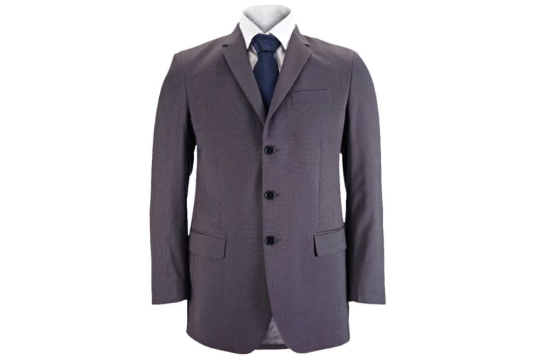 Alexandra Mens Icona Formal Classic Fit Work Suit Jacket (Charcoal) (44R)