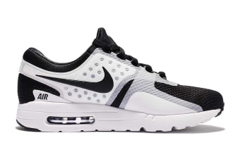 Nike Men's Air Max Zero Essential Shoe (White/Black, Size 8)