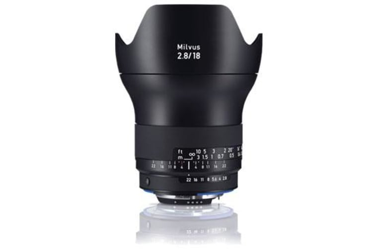 New Carl Zeiss Milvus ZF.2 2.8/18mm Lens For Nikon (FREE DELIVERY + 1 YEAR AU WARRANTY)