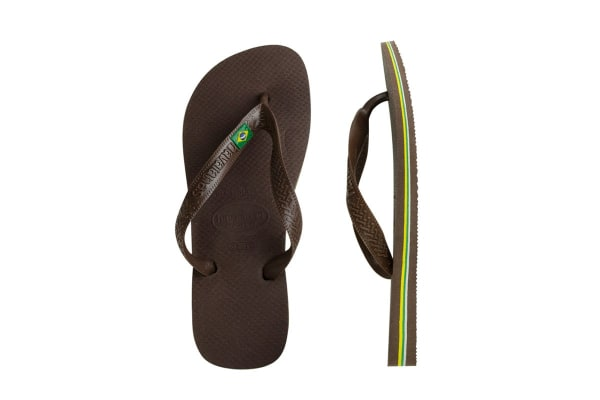 ef4ed4bed Havaianas Brasil Thongs (Dark Brown