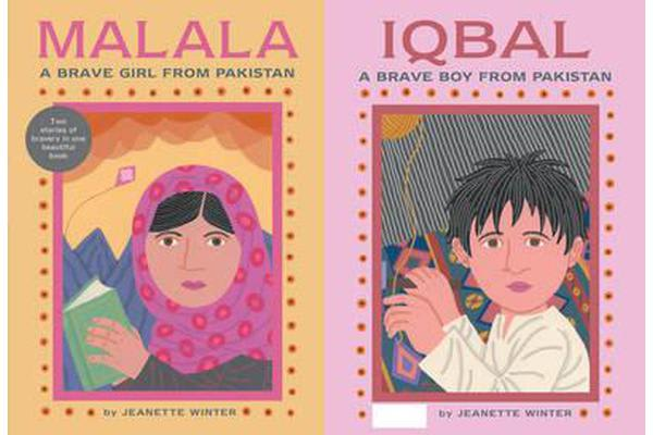 Malala, a Brave Girl from Pakistan/Iqbal, a Brave Boy from Pakistan - Two Stories of Bravery
