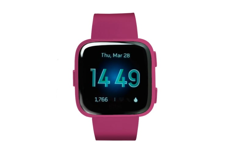 Fitbit Versa Lite Edition Fitness Watch (Mulberry)